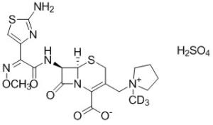 d3-头孢吡肟硫酸盐结构式图片|结构式图片