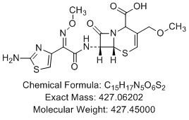 头孢泊肟酸Δ3异构体结构式图片|结构式图片