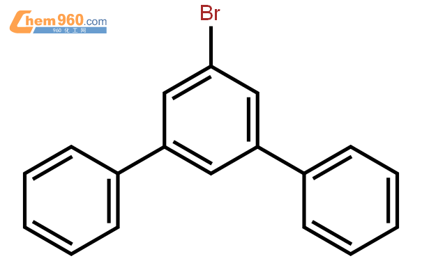 1-溴-3,5-二苯基苯结构式图片|103068-20-8结构式图片