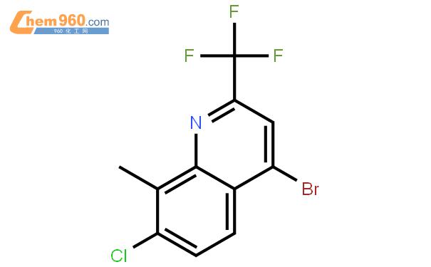 4-溴-7-氯-8-甲基-2-(三氟甲基)喹啉结构式图片|1072944-67-2结构式图片