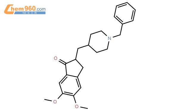 多奈哌齐碱结构式图片|120014-06-4结构式图片