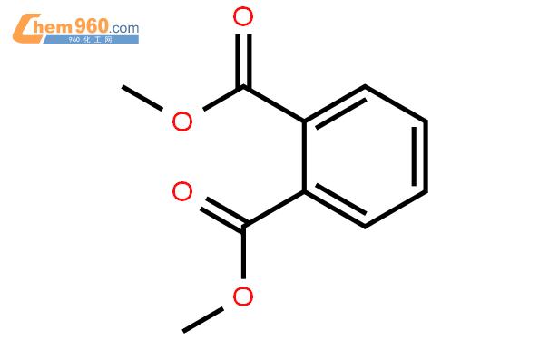 邻苯二甲酸二甲酯结构式图片 131-11-3结构式图片