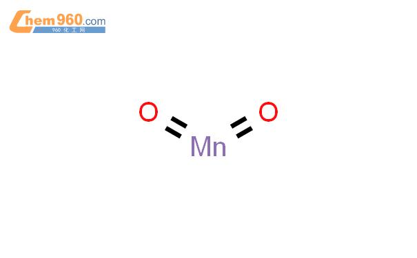 二氧化锰结构式图片|1313-13-9结构式图片
