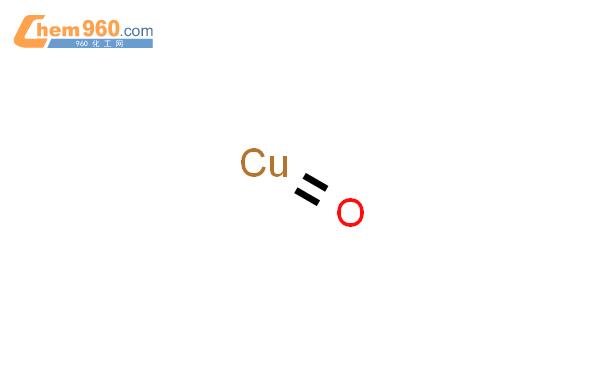 氧化铜结构式图片|1317-38-0结构式图片