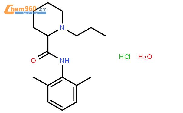 盐酸罗哌卡因结构式图片|132112-35-7结构式图片