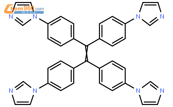 1H- Imidazole, 1,? 1', 1', 1'''-? One? Two? ethenediylidenets? Yes. Four? One? phenylene? tetrakisStructural picture|1477527-27-7Structural picture