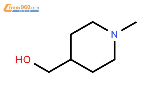 1-甲基-4-哌啶甲醇结构式