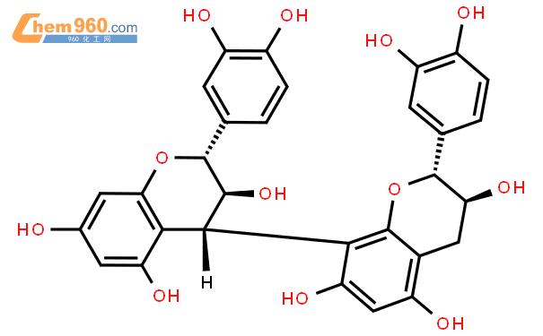 原花清素 B3结构式图片|23567-23-9结构式图片
