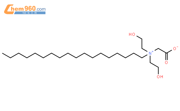 1-Octadecanaminium,N-(carboxymethyl)-N,N-bis(2-hydroxyethyl)-, inner salt结构式图片|24170-14-7结构式图片