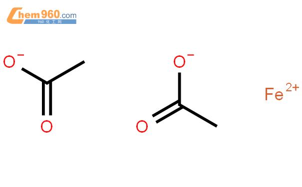 醋酸亚铁结构式图片|3094-87-9结构式图片