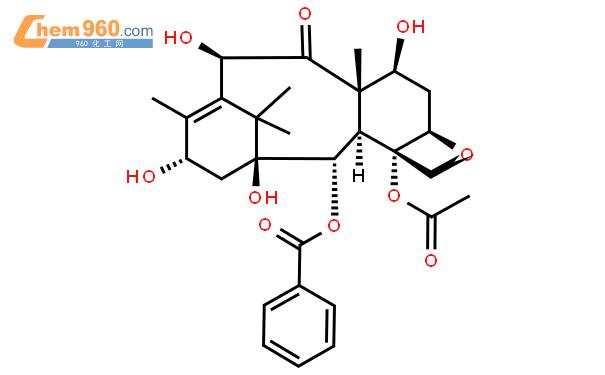 10-脱乙酰巴卡丁Ⅲ结构式图片|32981-86-5结构式图片