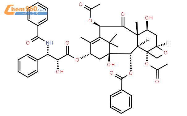 紫杉醇结构式图片|33069-62-4结构式图片