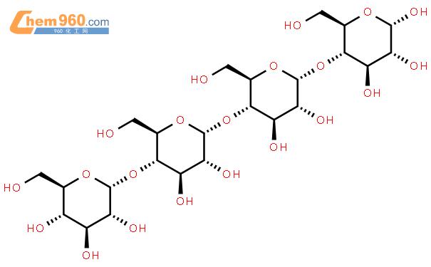 麦芽四糖结构式图片|34612-38-9结构式图片