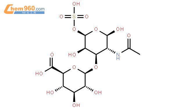 硫酸软骨素钠结构式图片|39455-18-0结构式图片