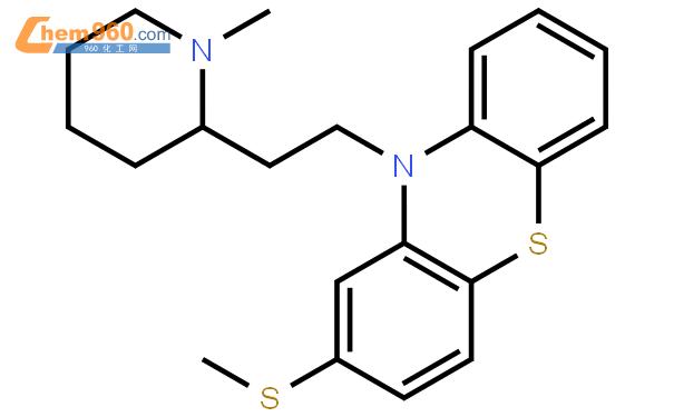 硫利达嗪结构式图片|50-52-2结构式图片