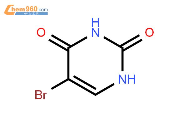 5-溴尿嘧啶结构式图片|51-20-7结构式图片