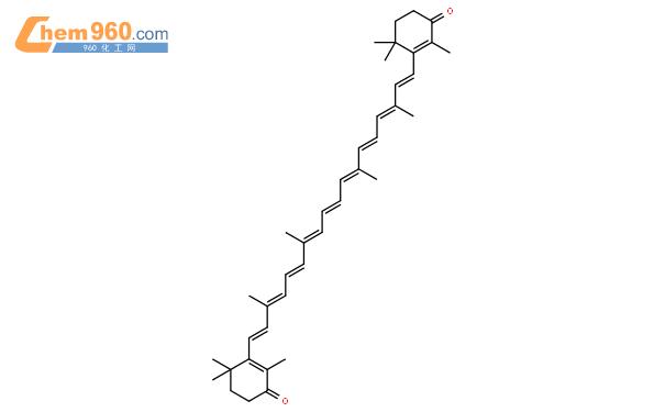 斑蝥黄结构式图片|514-78-3结构式图片