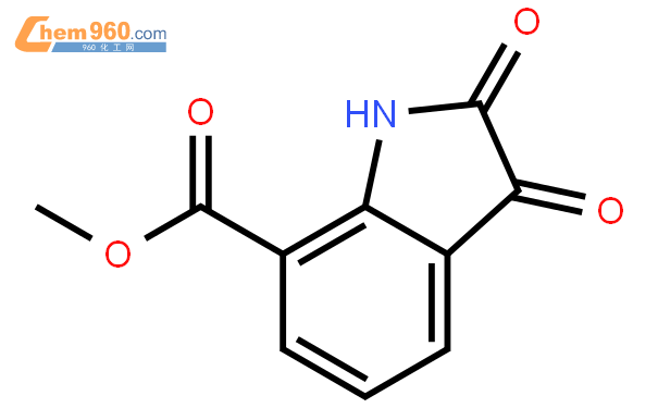 Methyl 2,3-dioxo-7-indolinecarboxylate