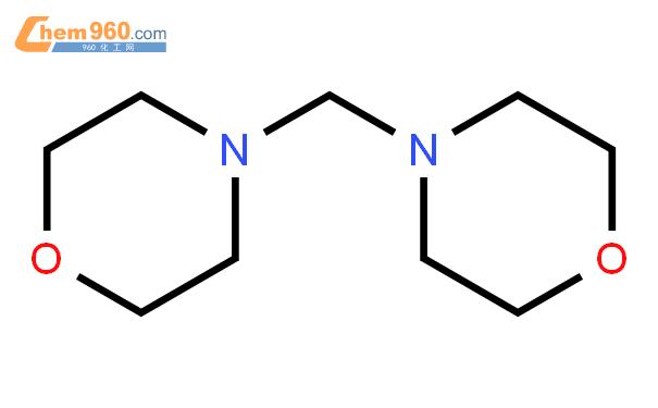 N,N'-亚甲基双吗啉结构式图片 5625-90-1结构式图片