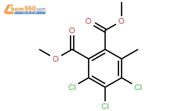 dimethyl 3,4,5-trichloro-6-methylbenzene-1,2-dicarboxylate