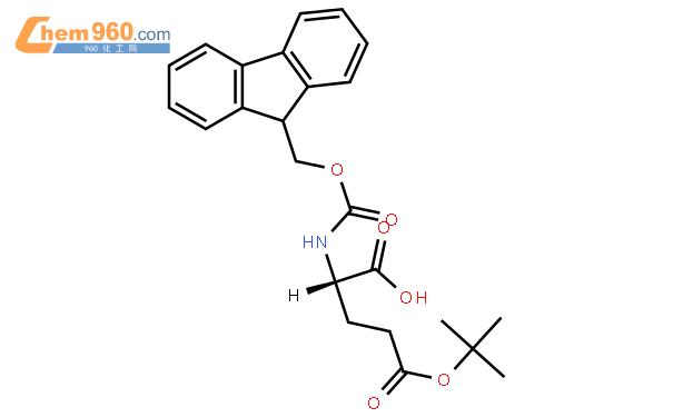 fmoc-o-叔丁基-l-谷氨酸结构式图片|71989-18-9结构式图片图片