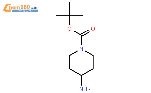 4-氨基-1-叔丁氧羰基哌啶结构式图片|87120-72-7结构式图片