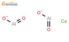 铝酸钙结构式图片 12042-68-1结构式图片