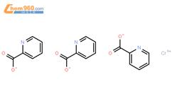 吡啶甲酸铬结构式图片 14639-25-9结构式图片