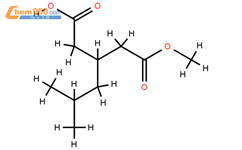 3-((methoxycarbonyl)methyl)-5-methylhexanoic acid
