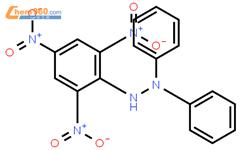 2,2-联苯基-1-苦基肼基(freeradical),DPPH结构式图片|1898-66-4结构式图片