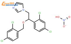 硝酸咪康唑结构式图片 22832-87-7结构式图片