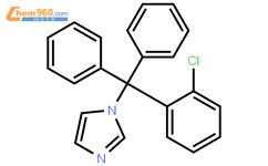 克霉唑结构式图片|23593-75-1结构式图片
