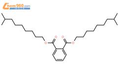 邻苯二甲酸二异癸酯结构式图片|26761-40-0结构式图片