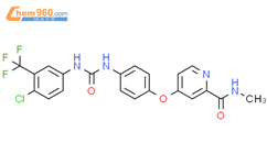 索拉非尼结构式图片|284461-73-0结构式图片