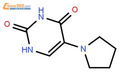 5-吡咯基尿嘧啶结构式图片|37454-54-9结构式图片