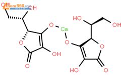 抗坏血酸钙结构式图片|5743-27-1结构式图片