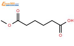 己二酸单甲酯结构式图片|627-91-8结构式图片