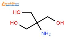 三羟甲基氨基甲烷结构式图片 77-86-1结构式图片