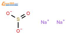 亚硫酸钠结构式图片|7757-83-7结构式图片