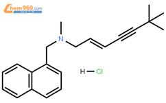 盐酸特比萘芬结构式图片|78628-80-5结构式图片