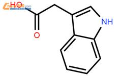 吲哚乙酸结构式图片 87-51-4结构式图片