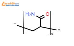 聚丙烯酰胺结构式图片|9003-05-8结构式图片