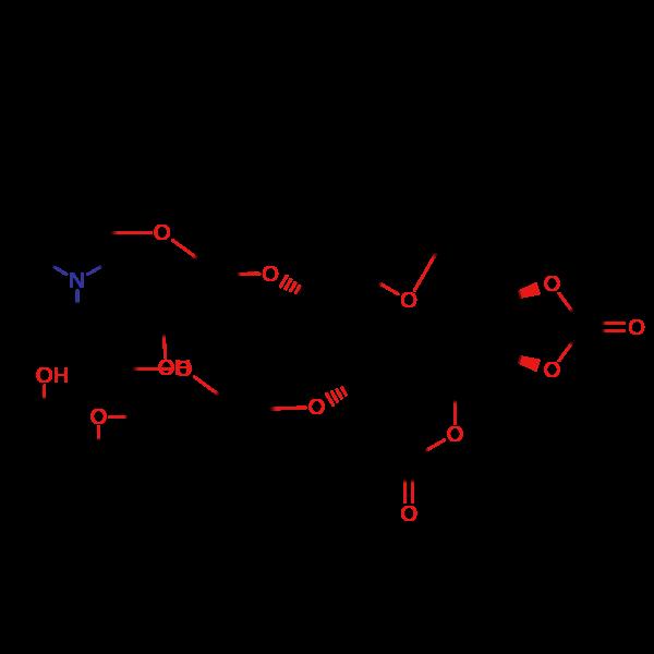 环酯红霉素烯醇醚杂质结构式图片|结构式图片