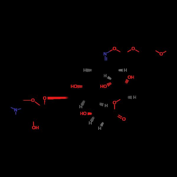 罗红霉素杂质B异构体结构式图片|结构式图片