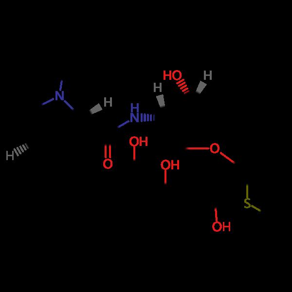 *克林霉素磷酸酯EP杂质A结构式图片|结构式图片
