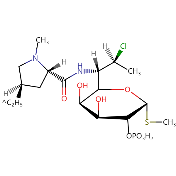 *克林霉素磷酸酯EP杂质B结构式图片|结构式图片