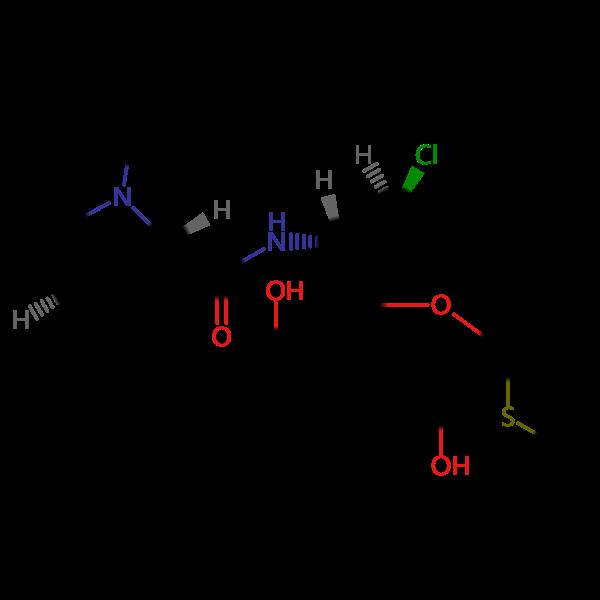 *克林霉素磷酸酯EP杂质C结构式图片|结构式图片