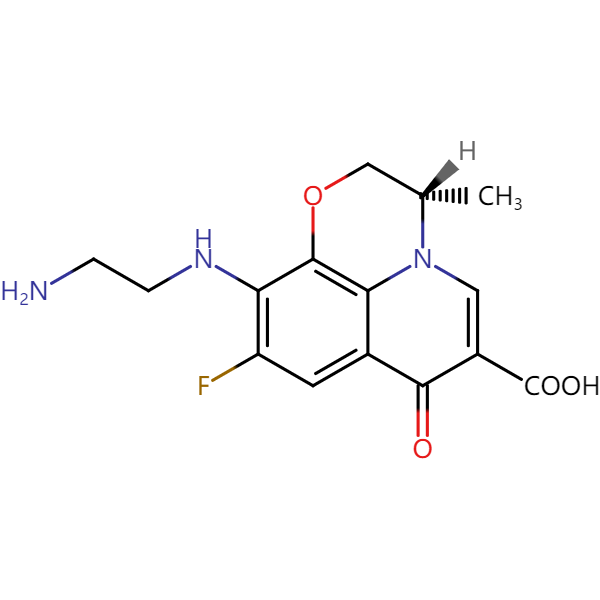 左氧氟沙星杂质2结构式图片|结构式图片