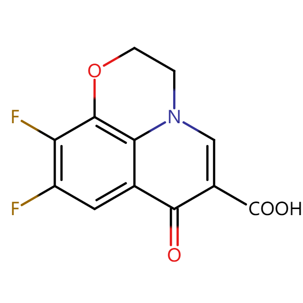 氧氟沙星杂质2结构式图片|结构式图片