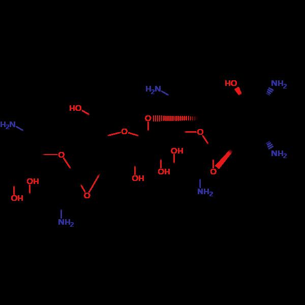 硫酸新霉素结构式图片 结构式图片